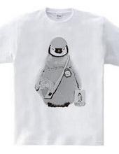 南極の幼稚園児☆ペンタ03名札付きmono