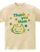 Thank you Mom & 猫(E)