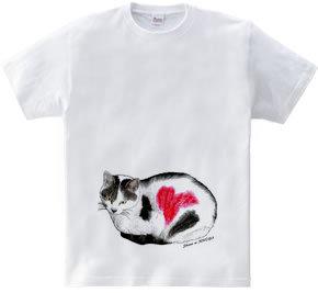 のら猫・ハートマーク