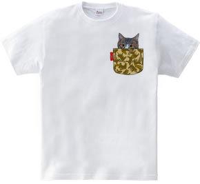 フェイクポケット・のら猫