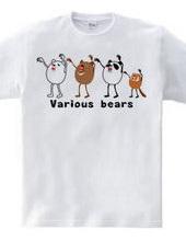 Various bears
