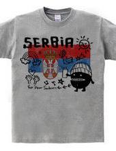 For dear Serbia!