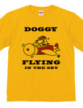 Doggy Flying in the sky