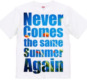 同じ夏は二度と来ない(青空Ver)