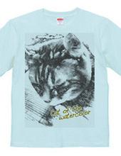 Cat-of-the-watercolor(白黒バージョン)