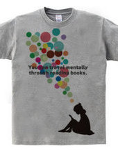 本を読めば、心の中で旅をすることができる。