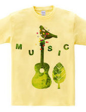 guitar bird peace music
