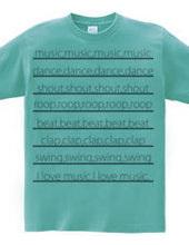 I like many kinds of music.