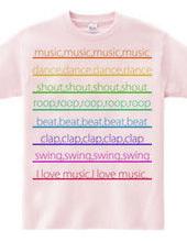 色んな音楽が好き。