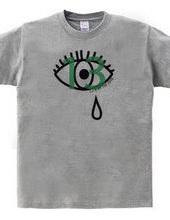 eye with the tear