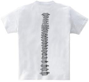 背骨 [背面]