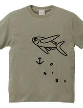 TOBIUOTシャツ
