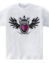 Wing Emblem (heart)