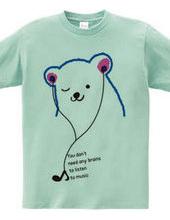 Polar bear music time