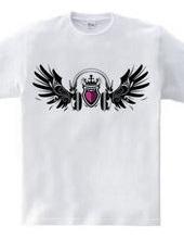 Sound flap Emblem (heart)