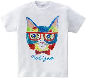 めが猫 水彩バージョン