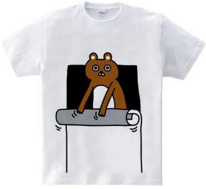 巻いているクマ