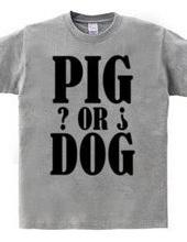PIG or DOG ?