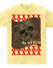 the 3rd birth product skull flag