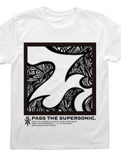 [COOL LABEL] PASS THE SUPERSONIC.ver2