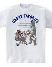 白クマ。スーパーへ行く:B