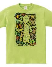 3人集まれば文殊の知恵のTシャツ