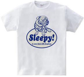 Sleepy bulldog B