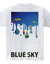青空が降ってくる。