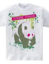 ゾンビパンダTシャツ