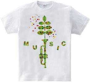 grow music, trumpet music