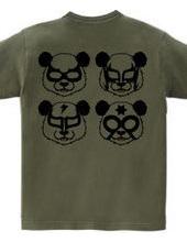 LUCHA Panda (two-sided)