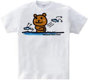 クマの鮭とり