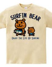 サーフィン熊