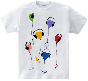 music love balloon