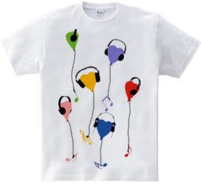 music love balloon
