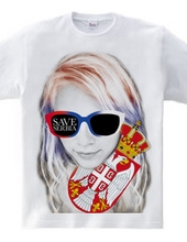 SAVE SERBIA GIRL