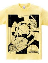 fembot / replicant ガールズイラスト