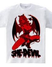 SHE-DEVIL PIN-UP