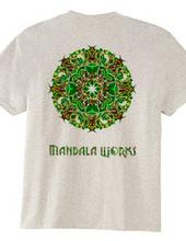 MANDARA WORKS LOGO PsychedelicVersion