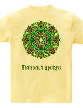 MANDARA WORKS LOGO PsychedelicVersion