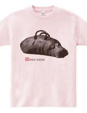 Hippopotamus bag - B