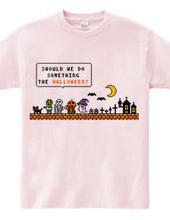 Halloween monsters (Pixel art)
