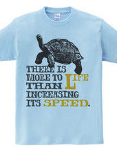 速度を上げるばかりが、人生ではない。B