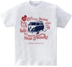 Retro VW VAN sign A