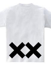 Bold line & cross