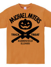 Michale Myers Halloween - black