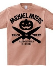 Michale Myers Halloween - black