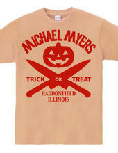 Michale Myers Halloween - orange