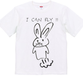 I can fly !! Tシャツバージョン
