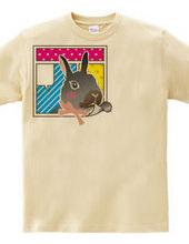 Simple Graphics #003 Comic Rabbit